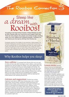 Rooibos is the best Sleep Medicine, Home Remedies, Natural Remedies, Insomnia, Health And Beauty, Herbalism, Stress, Tea, Beauty Products