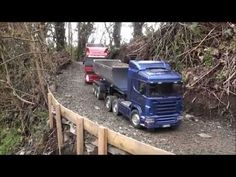 #rcxceleration #rccars RC Tamiya Scania and Volvo trucks