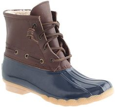 J.Crew Women's Sperry Top-Sider® for saltwater boots on shopstyle.co.uk