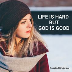 We know life is hard. That's a given. We also know God is good. Somewhere along the way we've gotten this whole God-thing mixed up and we think that because God is good, if we accept Him as our Savior, life won't be hard for us. We assume life with God will be a blessed … Words Of Encouragement For Kids, Our Savior, Change Your Mindset, Let God, Life Is Hard, Knowing God, Feeling Overwhelmed, God Is Good, Get Healthy