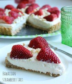 Hawaiian Strawberry Tart