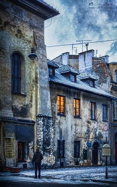 Blue - Jewish synagogue - Jewish synagogue, Kraków, dz. Kazimierz  photo from my blog: http://www.photo4art.eu