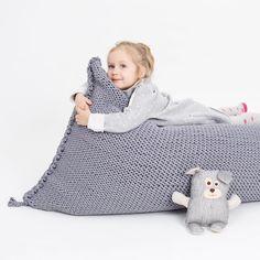 #sanfates #beanbag #amazing #knitted #rope #gray #handmade #homedecor #interiordetails #kidslove #nursery