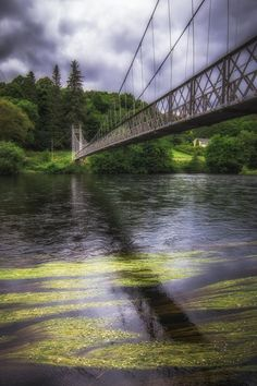 Penny Bridge above River Spey, Scotland