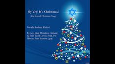 Oy Vey! It's Christmas! (The Jewish Christmas Song) OFFICIAL LYRIC VIDEO Jewish Christmas, Current Events, Acting, Lyrics, Songs, Music, Projects, Musica, Log Projects