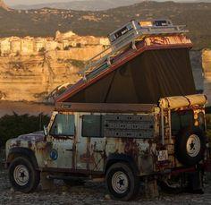 Land Rover Defender Rost-Klebefolie Rost Ratte Bergmann