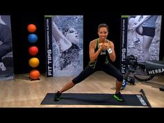 ▶ How to do a perfect ... inner/outer thigh exercise | Herbalife Fit Tips with Samantha Clayton - YouTube