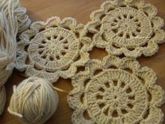 ElenaRegina crochet a tutto colore: Lane naturali e fiore japanese