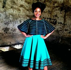 #umbhaco #mordenxhosaattire African Wear Dresses, Latest African Fashion Dresses, African Print Fashion, African Attire, African Prints, African Outfits, African Traditional Wedding Dress, Traditional Outfits, Xhosa Attire