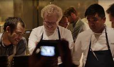 Aaron Verzosa @SXSW with Chef Paul Qui