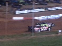 Pierson and Bloomquist Dixie speedway 2013