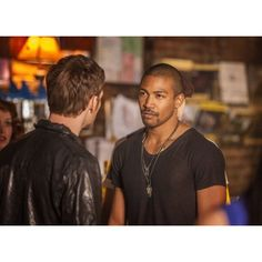 Charles Michael Davis ❤ liked on Polyvore featuring the originals and vampire diaries