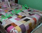 Colcha em Patchwork Quilts, Blanket, Bed, Patch Quilt, Pillow Shams, Couple, Colors, Quilted Purse, Atelier