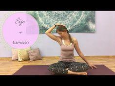 Jóga pro šíji a ramena - YouTube Youtube, Youtubers