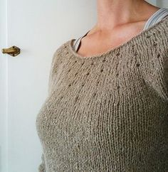 Simplest sweater pattern by Juliet Romeo Juliet FREE