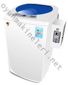 Parayla Çalışan Çamaşır Makinesi-Çamaşır Makinesi Otomatı