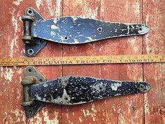 Antique Lancaster PA Barn Door Hinges | eBay