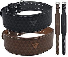 titan pioneer rdx XL PowerLifting Leather Lever 10mm Power Lifting Belt