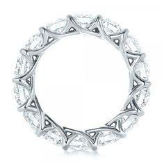 Custom Diamond Eternity Wedding Band #102342