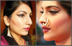 What Am I Wearing Today: Sonam Kapoor Cannes 2013 Inspired Makeup