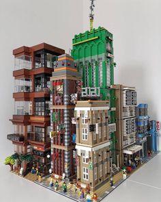 Lego Moc, Lego Minecraft, Minecraft Ideas, Lego Disney, Legos, Lego Hacks, Lego Hogwarts, Big Lego, Amazing Lego Creations