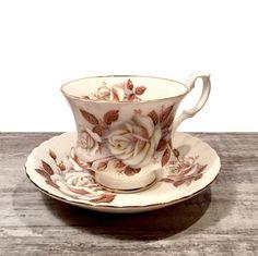 Royal Albert Tea cup and Saucer Vintage Royal Albert TeaCup
