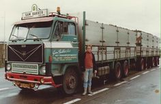 Gam Bakker Volvo F 89 Foto: Piet Schouten Volvo Cars, Volvo Trucks, Road Transport, Vintage Trucks, Classic Trucks, Race Cars, Transportation, Vehicles, Sweden