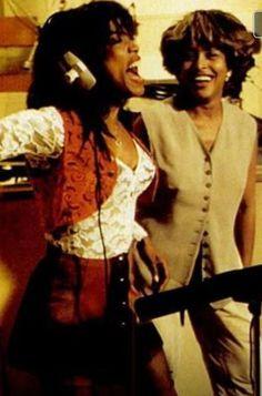 Angela Bassett and Tina Turner