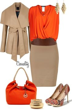 I love the style of the skirt and top pairing!