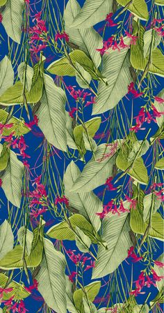 Textile design by La Estampa Brasil