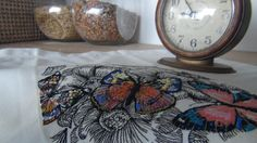 Gorgeous butterfly machine embroidery design