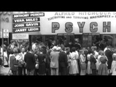 "Check out this rare video featuring Alfred Hitchcock giving tips to movie distributors about how to get people to see ""Psycho"" when it first came out."
