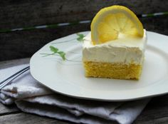 Grandma Virginia's Light Lemon Cake | RecipeLion.com Lemon Desserts, Lemon Recipes, Cookie Desserts, Easy Desserts, Delicious Desserts, Cake Recipes, Just Cakes, Sponge Cake, How Sweet Eats