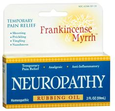 Neuropathy Oil for Diabetics - Natural Homeopathic Pain Relief