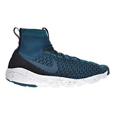 official photos 2fc15 70bc4 Nike Air Footscape Magista FK FC Mens Shoes Midnight TurquoiseBlackRio Teal  830600300 10 DM US   Want to know more, click on the image.