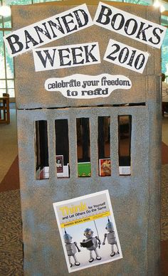Banned Books Week by Brownsburg Library, via Flickr