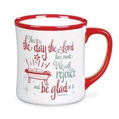 This Is The Day Christmas Mug (Psalm 118.24)