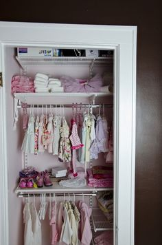 Looking For Pics Of Nursery Closets W/ Org + Storage | Babies, Storage And  Closet