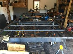 Project Gallery Details Page - MillerWelds Deck Over Trailer, Welding Training, Flat Bed, Gallery, Green, Projects, House, Log Projects, Blue Prints