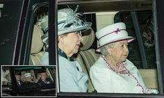The monarch was spotted today making her way to Crathie Church for Sunday service, within spitting distance of her Balmoral Castle on Royal Deeside.