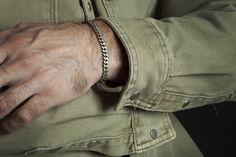 Silver Bracelets, Bracelets For Men, Lion Bracelet, Mens Gold Jewelry, Rugged Look, Black Oxide, Christmas Gifts For Men, Old World Charm, Chain Jewelry