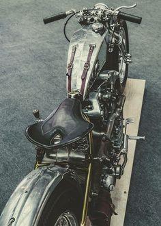 Custom brushed metal bobber
