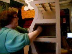 como se hace un mueble en carton-segunda parte-www.cartonmac.fr - YouTube