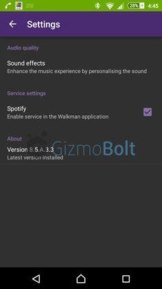 Walkman 8.5.A.3.3 app