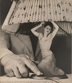 Dream No. 1: 'Electrical Appliances for the Home' by Grete Stern ca. 1950 Gelatin silver print