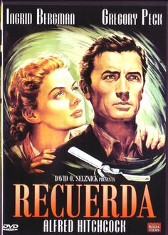 """Alfred Hitchcock : """"Recuerda"""" / """"Spellbound"""", 1945"""