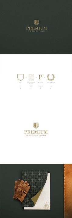 Premium sofa House - Branding Design developed for a Portuguese luxury furniture, upholstery firm