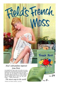 1956 Field's French Moss ad