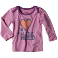 Baby Love is All You Need Long Sleeve Ringer Tee