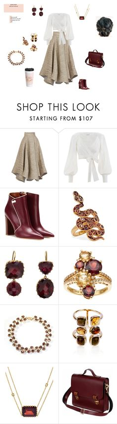 """""""Boss Babe"""" by browncoat4ever ❤ liked on Polyvore featuring Zimmermann, Malone Souliers, Diego Percossi Papi, Renee Lewis, Belk & Co. and N'Damus"""